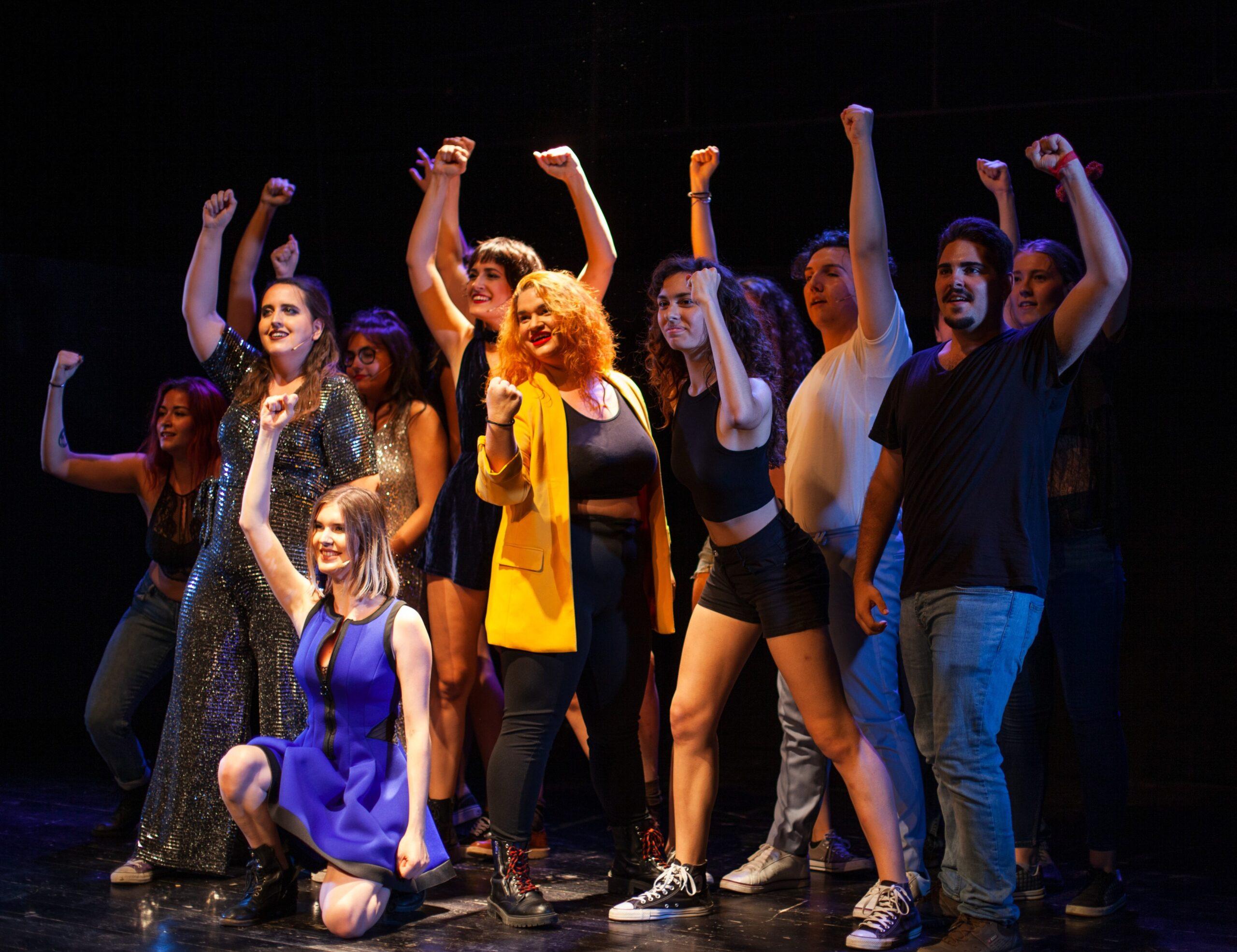 Alumnos de Teatro Musical de la Escuela Off